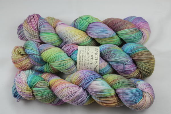 Fairies of Fryham Adventure merino/nylon sock yarn