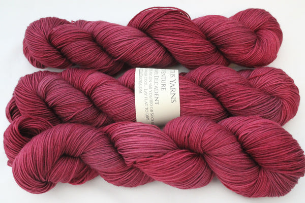 Decadent Adventure merino/nylon sock yarn