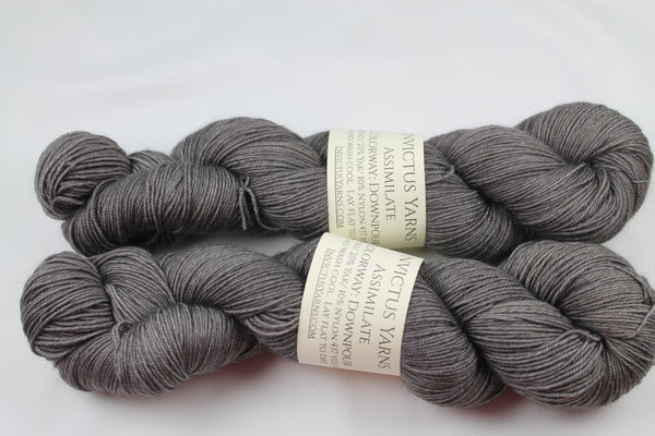 Downpour Assimilate Merino/Yak/Nylon fingering weight yarn