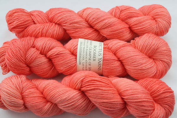 Glimpse of Spring BooMer sock yarn merino/bamboo fingering weight yarn