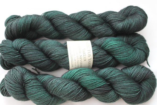 NeverMore YakLux Merino/Silk/Yak fingering weight yarn