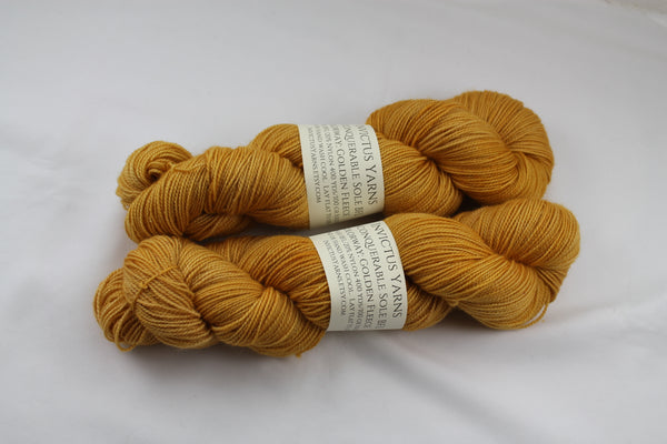 Golden Fleece Unconquerable Sole BFL SW BFL/nylon fingering weight sock yarn