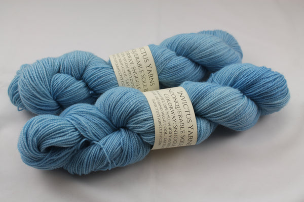 Snuggle Unconquerable Sole BFL SW BFL/nylon fingering weight sock yarn