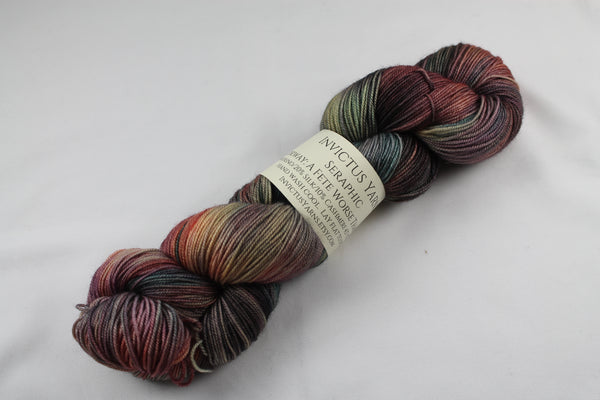 A Fete Worse Than Death Seraphic 70/10/20 MCS fingering weight sock yarn