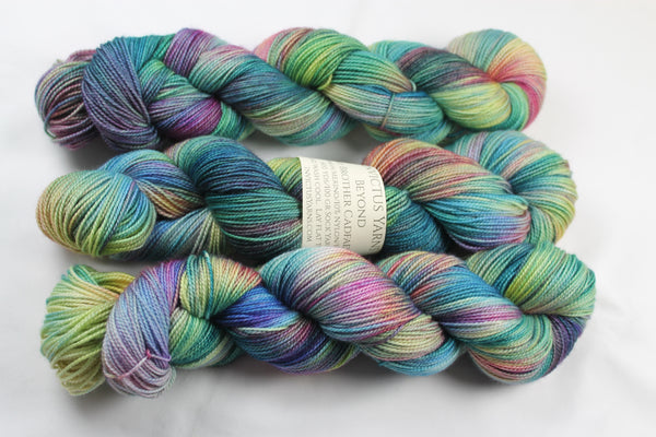 Brother Cadfael's Garden Beyond MCN fingering weight sock yarn