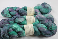 Mystic Poetry merino/silk fingering weight yarn