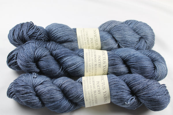 Blustery Poetry merino/silk fingering weight yarn