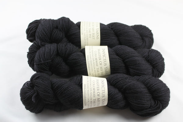 The Pit Master of My Feet  merino/nylon fingering weight sock yarn