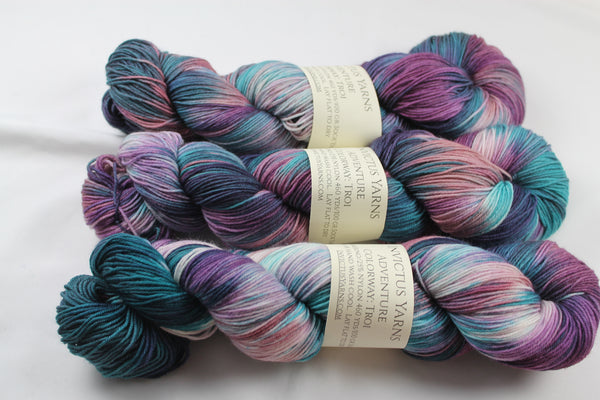 Troi Adventure merino/nylon sock yarn