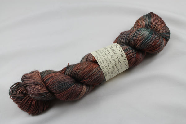 Autumn Vision Desert Dream baby camel/silk fingering weight yarn non superwash