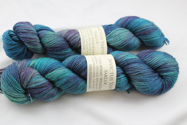 Windemere YakLux Merino/Silk/Yak fingering weight yarn