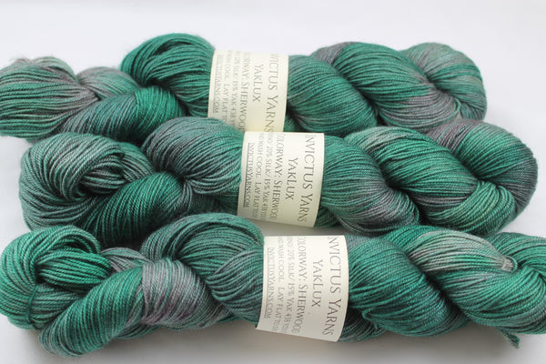 Sherwood YakLux Merino/Silk/Yak fingering weight yarn