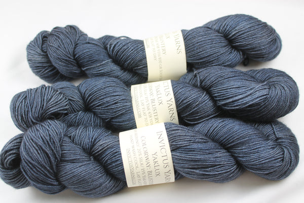 Blustery YakLux Merino/Silk/Yak fingering weight yarn