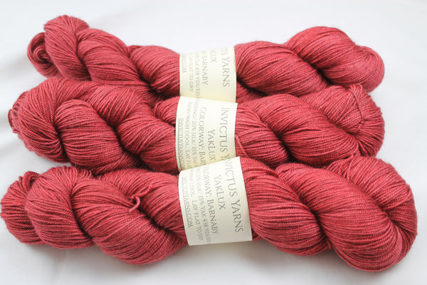 Barnaby YakLux Merino/Silk/Yak fingering weight yarn