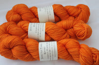 Pumpkin Spice Reward 80/20 merino/silk fingering weight sock yarn