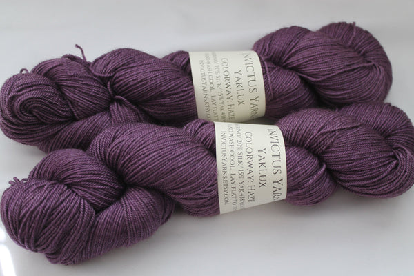 Haze YakLux Merino/Silk/Yak fingering weight yarn