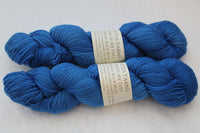 Buck Blue Master of My Feet  merino/nylon fingering weight sock yarn