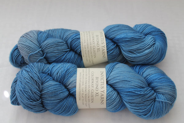 Glisten Beyond XL MCN fingering weight extra length yarn