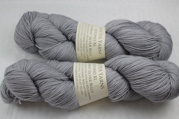Silver Bells Beyond XL MCN fingering weight extra length yarn