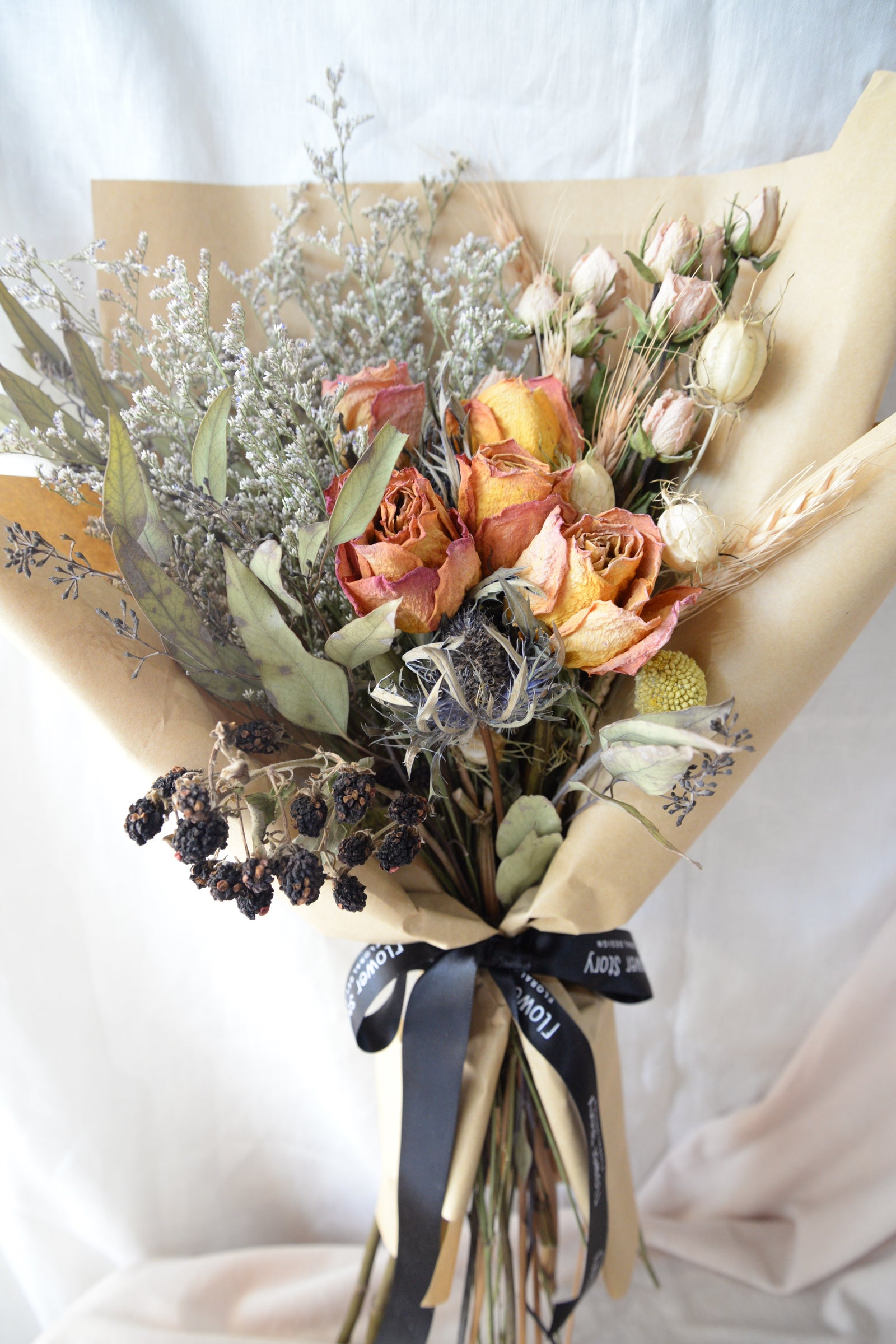 Dried Series: Dried Roses Bouquet