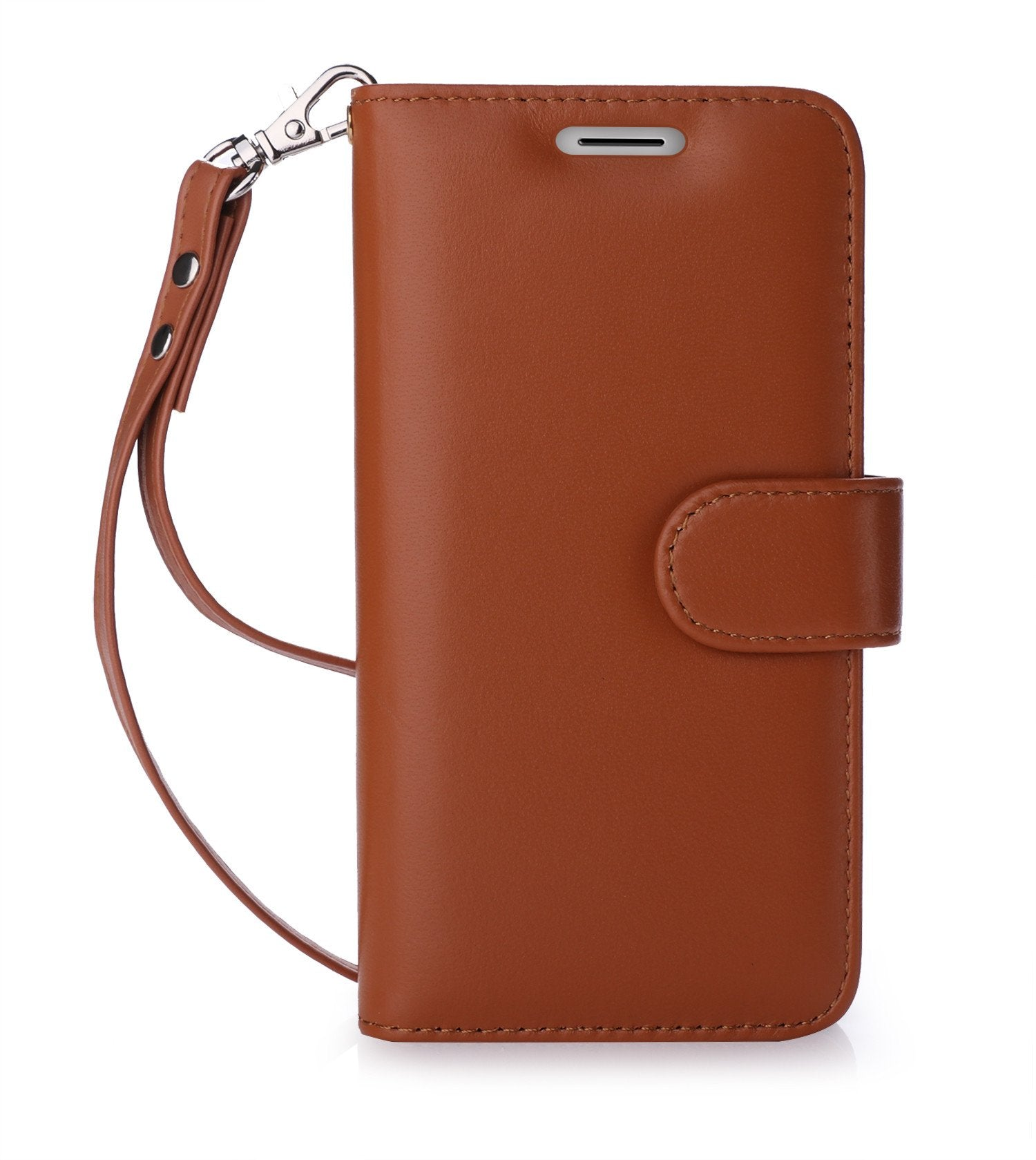 Genuine Leather Case for Moto G5 Plus