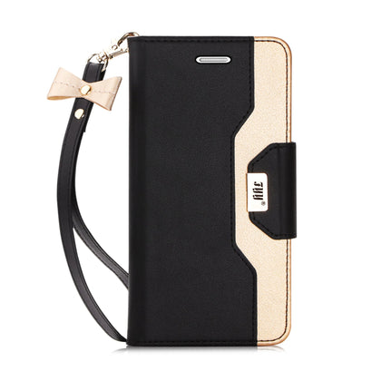 Wallet Case with Cosmetic Mirror for Galaxy S7 Edge | mywenyi
