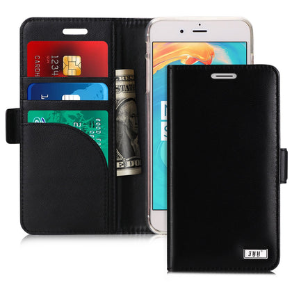 Genuine Leather Wallet Case for iPhone 7 Plus/8 Plus | mywenyi