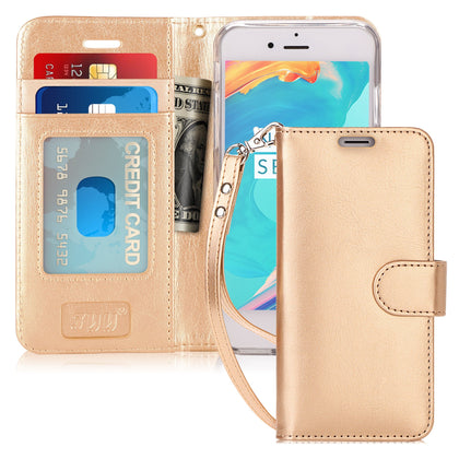 PU Leather Wallet Stand Case for iPhone 6/6S Plus | mywenyi