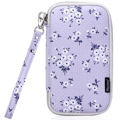 Floral Travel Wallet Passport Holder | mywenyi