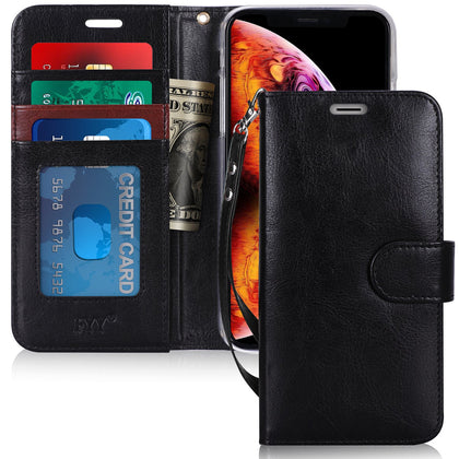 PU Leather Wallet Case for iPhone 6.5