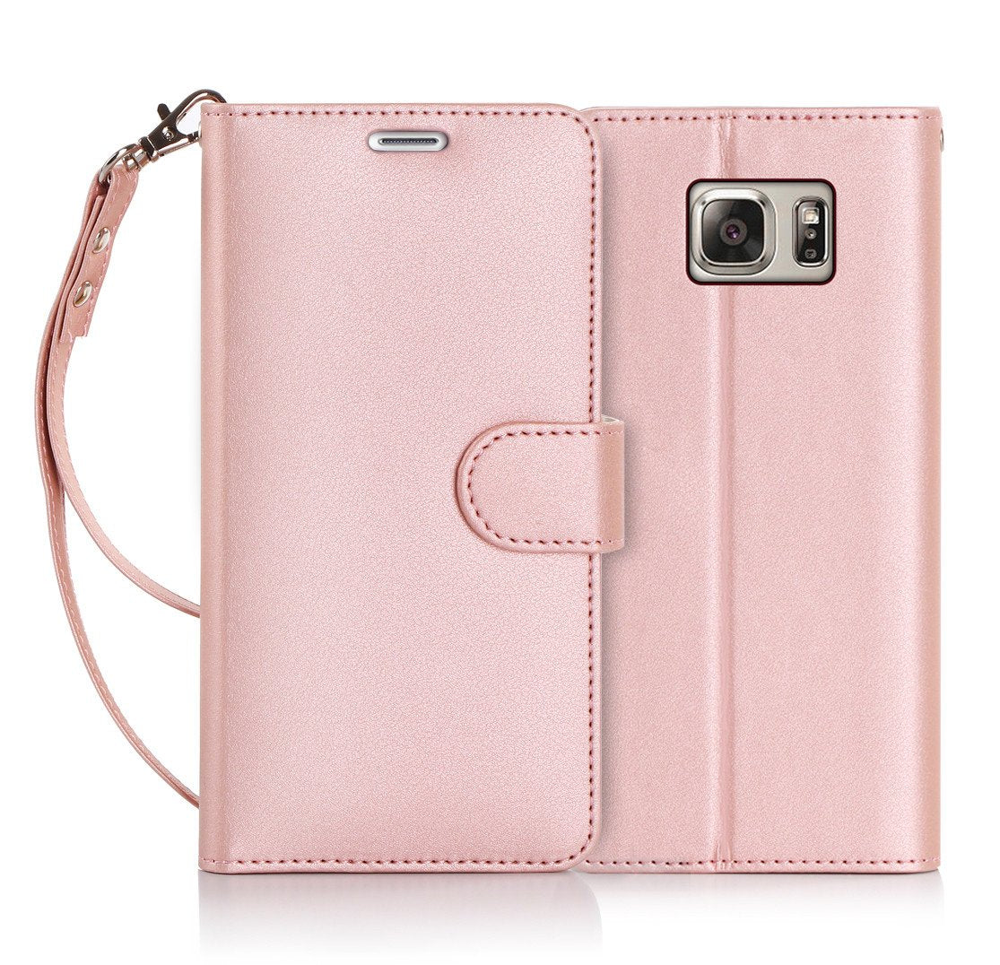 PU Leather Wallet Case for Galaxy S7