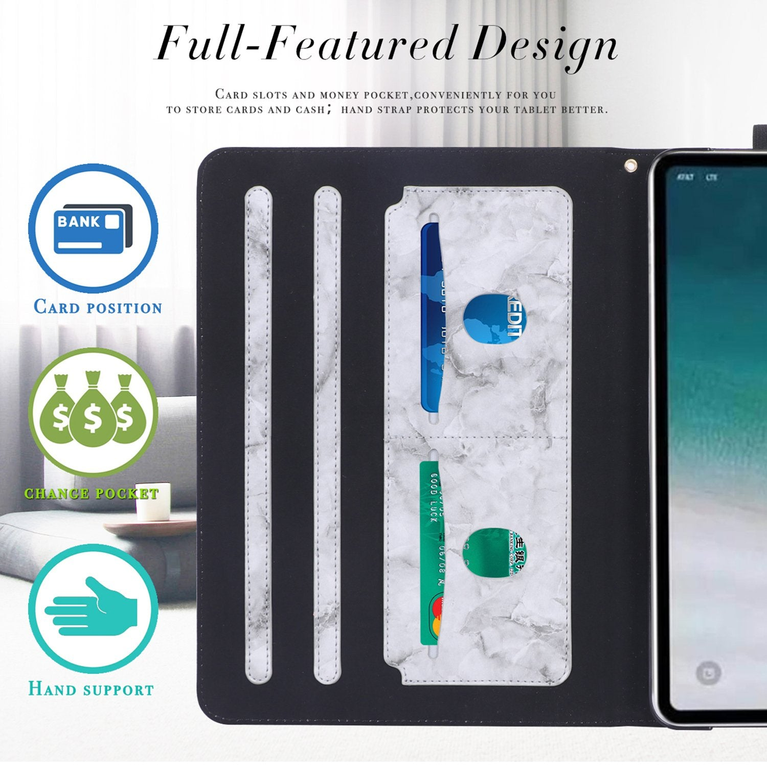 Leather Case for iPad Pro 11(2018)