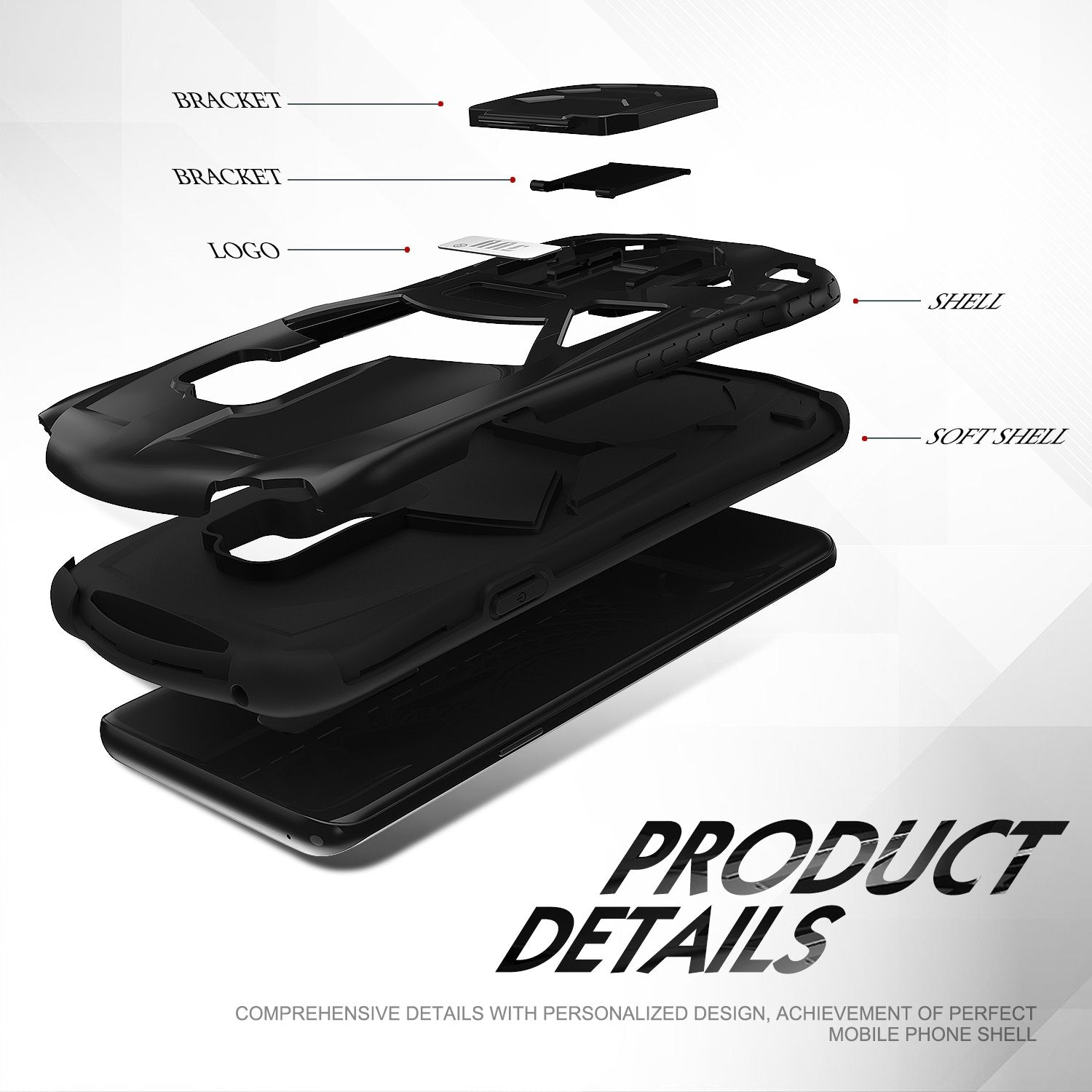 Shock Absorption Protective Case for Galaxy S9 Plus