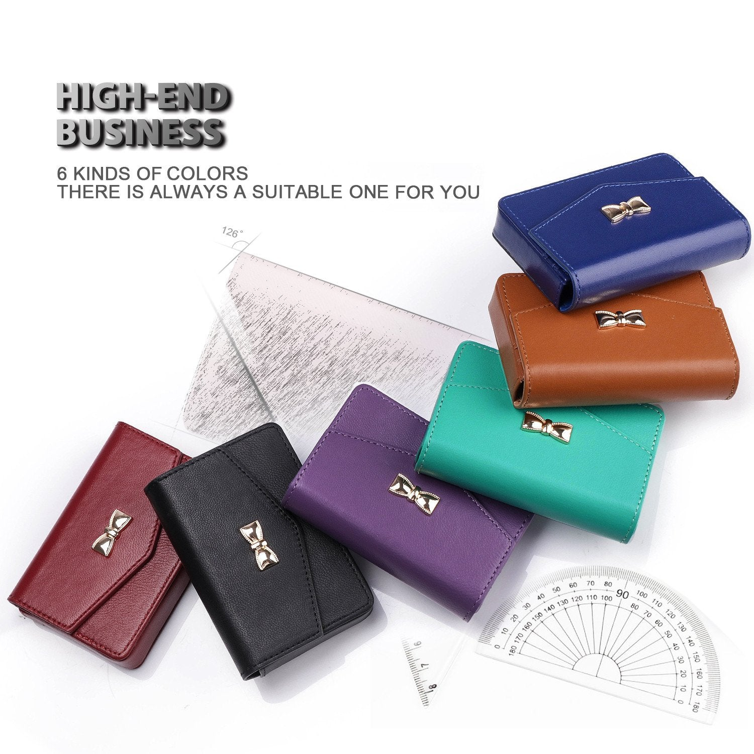 Handmade Genuine Leather Business Card Case