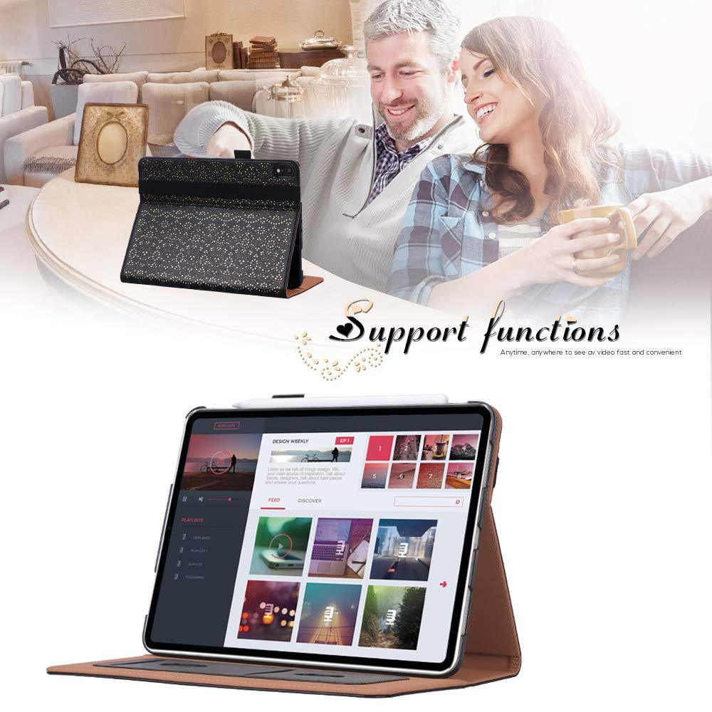 "[Support Apple Pencil Charging] PU Leather Case for iPad Pro 11"" 2018"