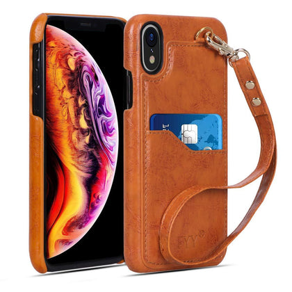 Elegant PU Leather Case for iPhone Xr 6.1