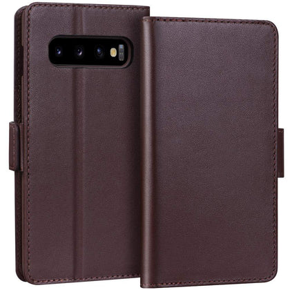 Luxury [RFID Blocking] Wallet Case for Galaxy S10 6.1
