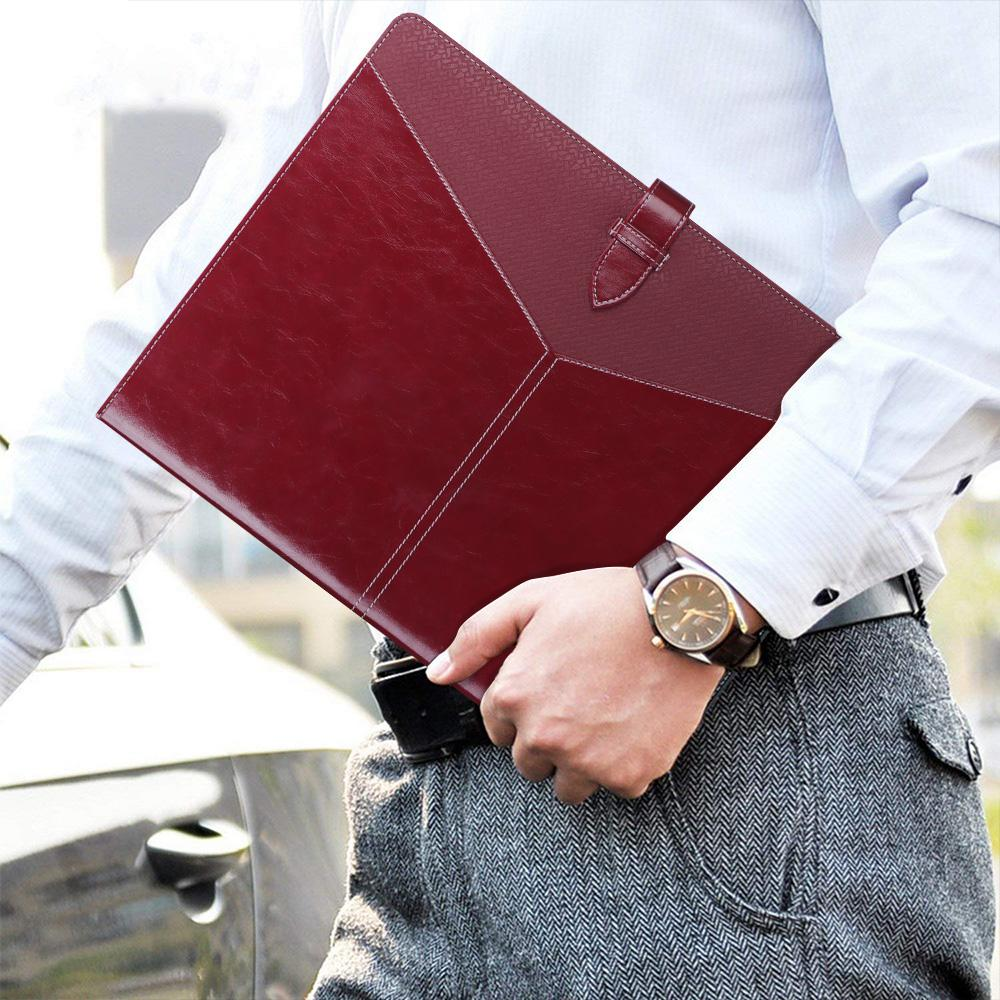 Padfolio 3 Ring Binder (1'' Round Ring) Business Portfolio Folder