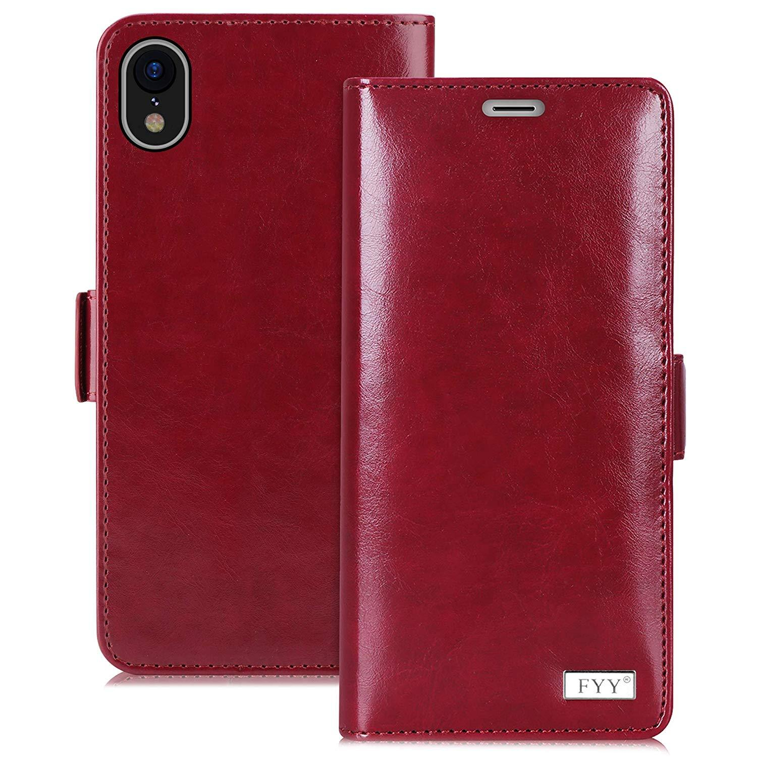 "[Kickstand Feature] Wallet Case for iPhone Xr 6.1"" (2018)"