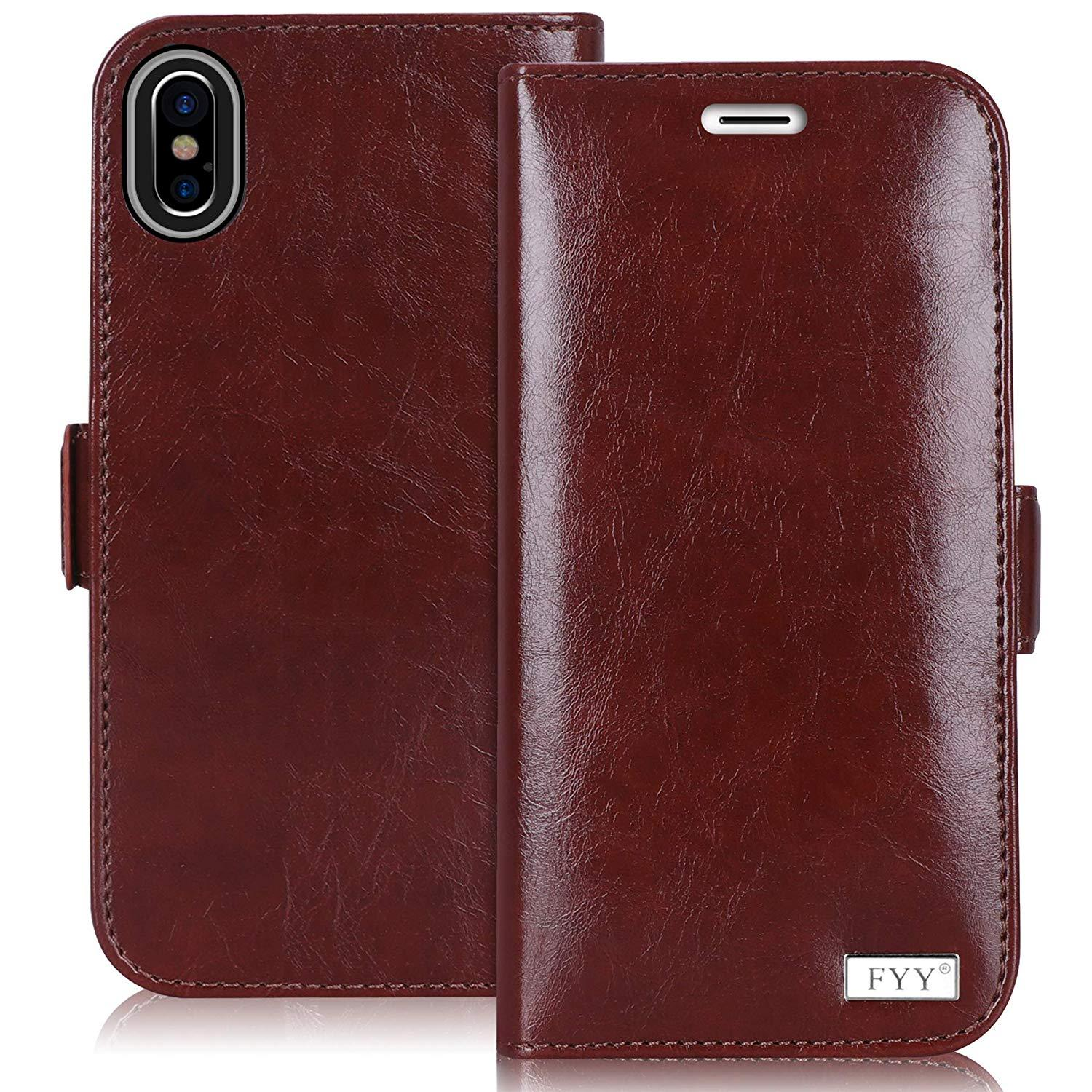 "[RFID Blocking] Wallet Case for iPhone Xs Max 6.5"" (2018)"
