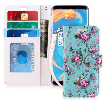 Premium PU Leather Wallet Case  for Galaxy S9 | mywenyi