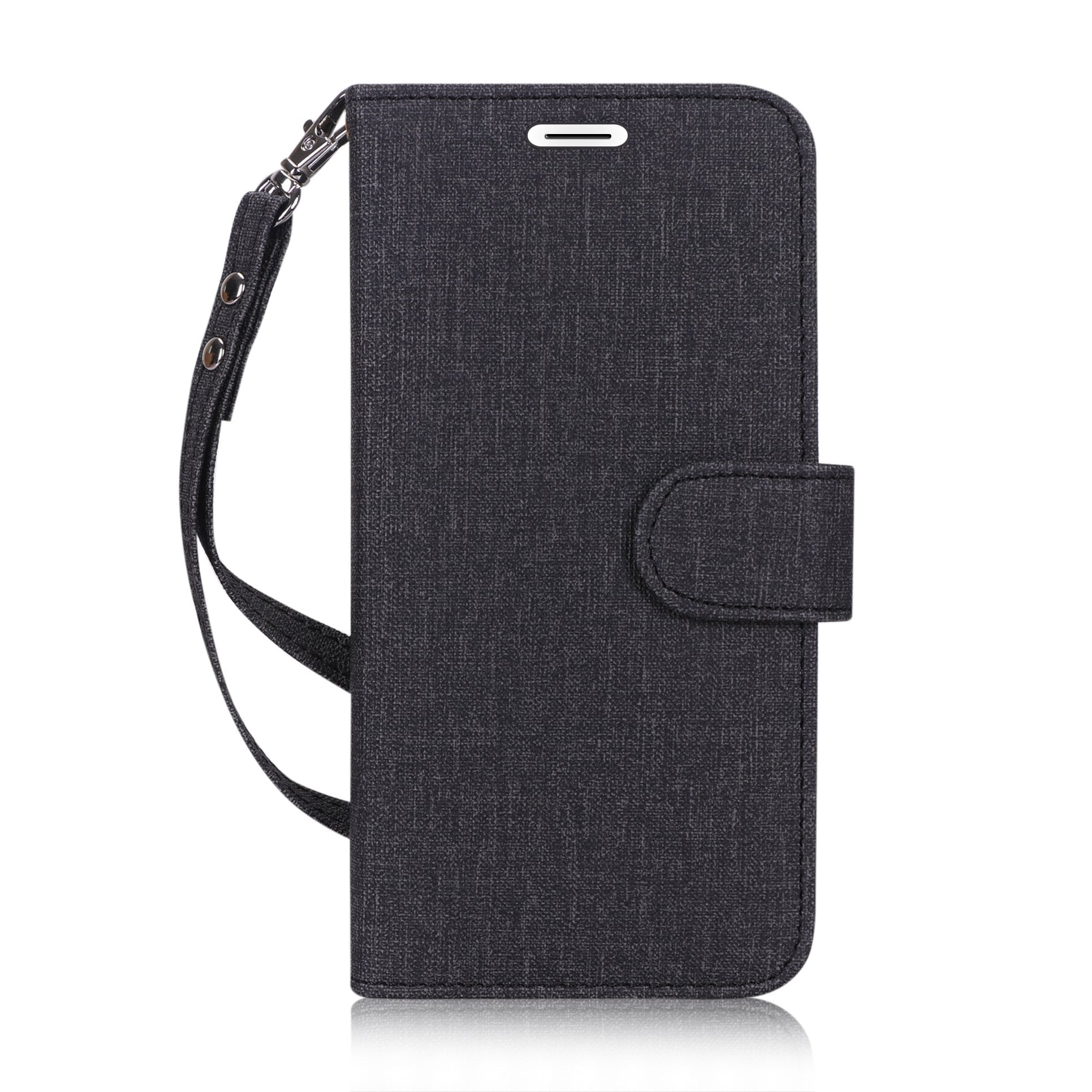 "Flip Folio Canvas Wallet Case for iPhone Xs Max 6.5"" (2018)"