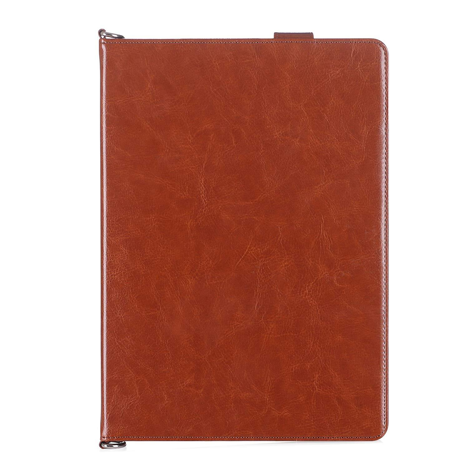 Luxurious Genuine Leather Case for 2019 iPad Air 10.5/2017 iPad Pro 10.5
