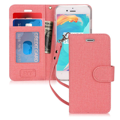 Canvas Wallet Case for iPhone 8/7 (4.7