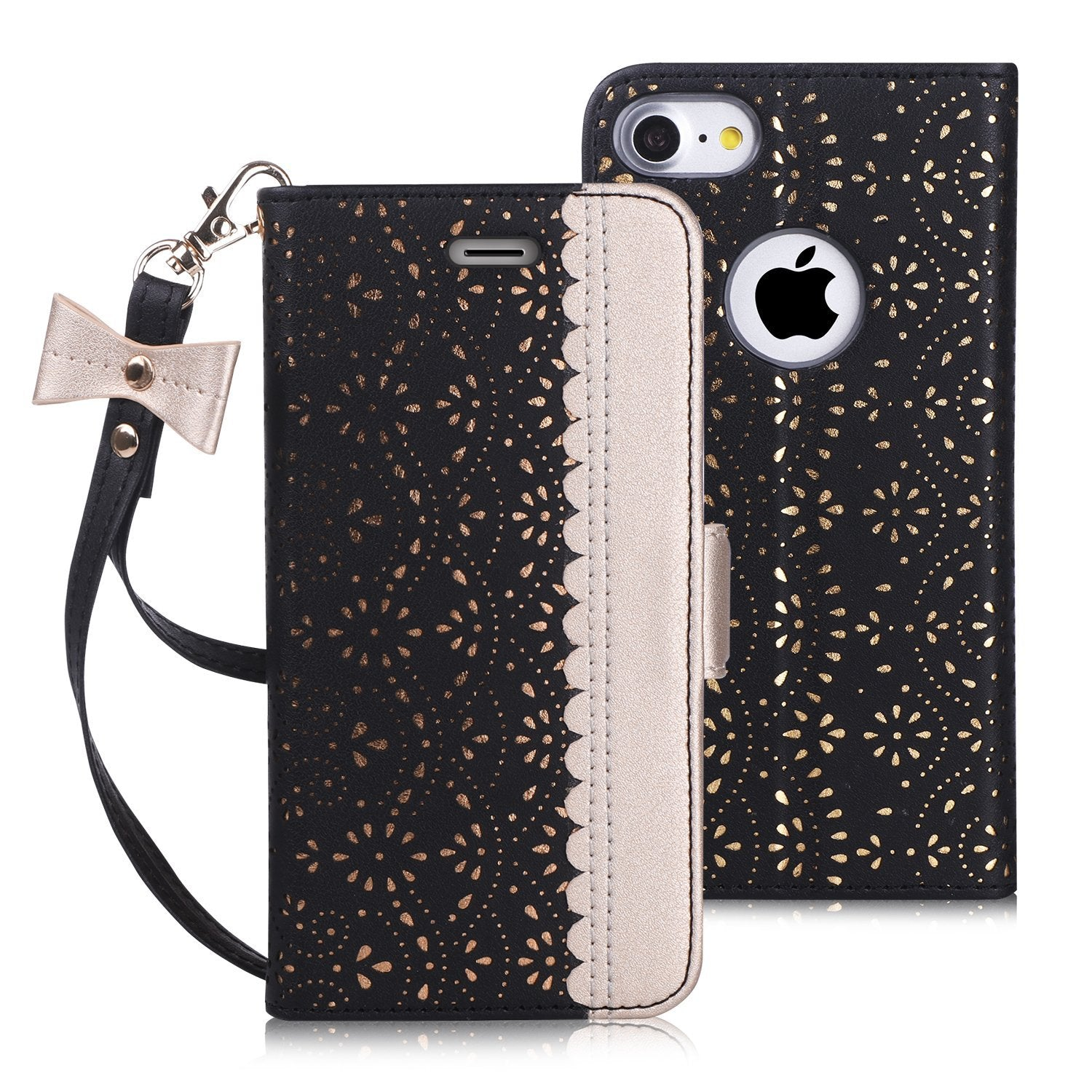 [Mirror Series] [RFID] PU Leather Case for iPhone 7/8