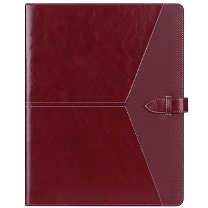 Padfolio 3 Ring Binder (1'' Round Ring) Business Portfolio Folder | mywenyi