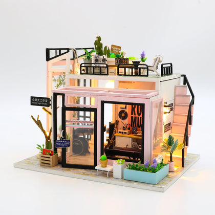 DIY Miniature Dollhouse Kits Studio | mywenyi