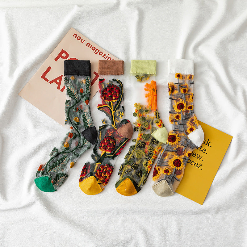 Witty Socks ™ Garden Collection
