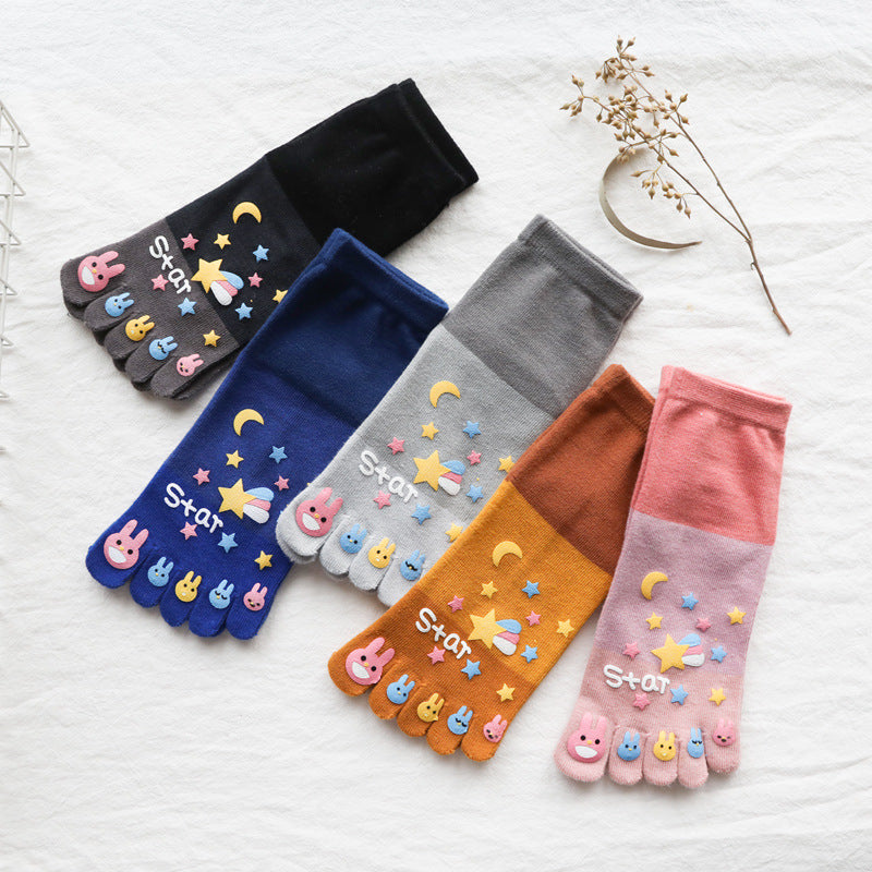 Witty Socks™ Lovely Toe Socks Collection