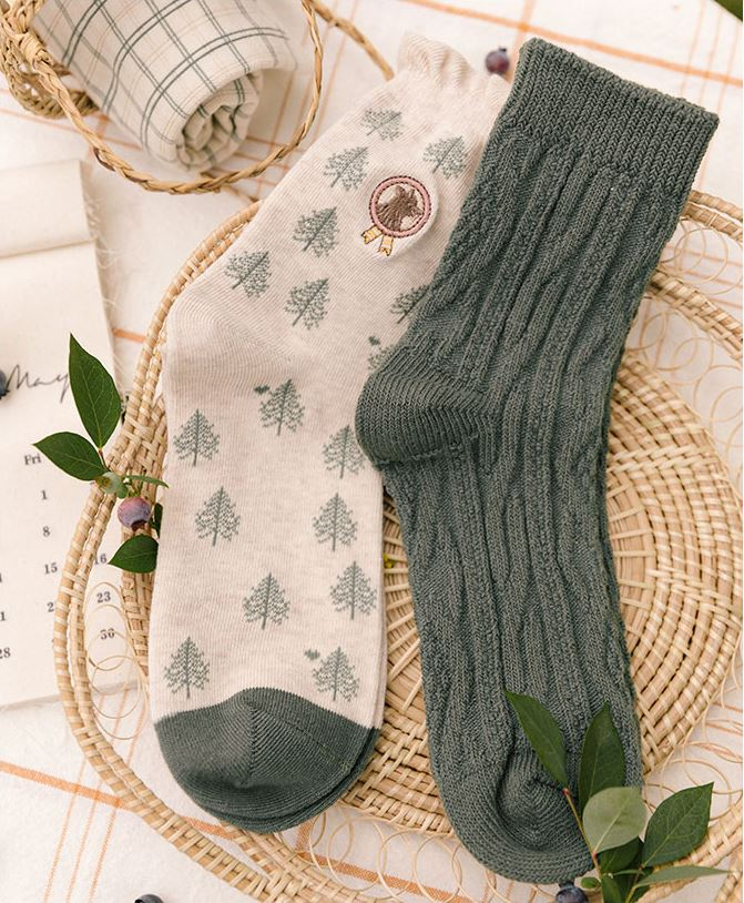 Witty Socks™ Green Forest Collection